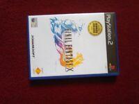 PlayStation 2 game final fantasy x