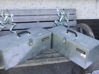 Clarke CTB10 Galvanised Tool Chest(two)