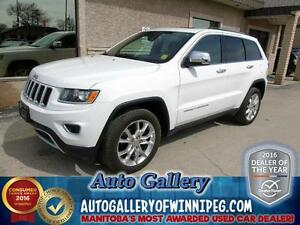 2015 Jeep Grand Cherokee LTD 4X4 *Lthr/NAV*