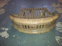 """Fire Grate and front 1930s 16"""""""