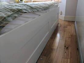 Super King Size Mattress and Bed Frame