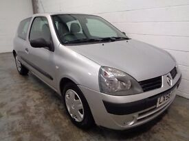 RENAULT CLIO 2006/56 REG , ONLY 62000 MILES + FULL HISTORY , LONG MOT , SUPERB CONDITION , WARRANTY