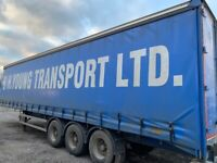 40ft trailers for sale curtain side