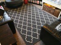 Large Ikea Hovslund rug £60