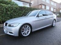 2006 '56 REG' BMW 320 D M SPORT 4 DOOR +++DIESEL WITH FULL SERVICE HISTORY & 1 YEAR MOT+++