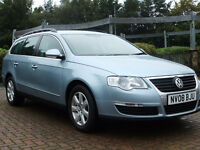 2008 VOLKSWAGEN PASSAT SE TDI DIESEL ESTATE 140BHP- FULL SERVICE HISTORY / GOOD CONDITION