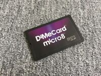 Credit card sized Micro SD holder. Holds up to 8x MicroSD