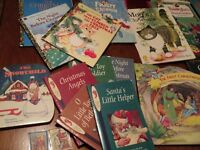 Selection of Children's Christmas books! Various titles. Hard and soft cover.