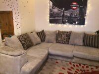 4 year old dfs corner sofa