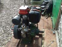 stationary diesel engine ,petters