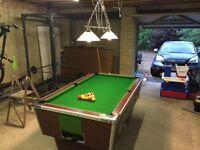 Pool Table - Superleague pub table 6 x 3 foot