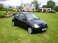 2007 Ford KA 1.3 Petrol BLACK - MINT VERY ECONOMICAL, LOW MILEAGE Not Fiesta / Corsa / Clio