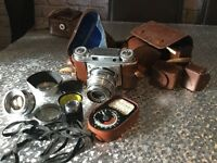 VINTAGE VOIGHTLANDER CAMERA AND EXTRAS
