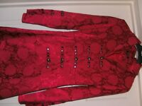 Red Coat size 8/10