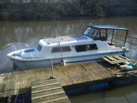 Norman 22 Cabin Cruiser Boat