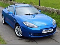 ONLY 38K MILES! (2009) HYUNDAI COUPE SIII 1.6 - LEATHER - FSH - 12 MONTHS MOT - 3 MONTHS WARRANTY -