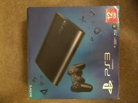 PS3 Super Slim 12 GB with extra 250GB Hard Drive