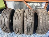 4 x 25560r18 tyres good condition