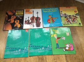 Violin practice books for beginners