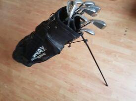 Golf clubs bag set