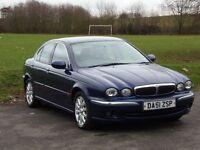 Jaguar X-type 2.5 petrol AWD, 4x4, new MOT, manual, good condition. NOT MONDEO, 325, C-CLASS,VECTRA