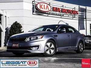 2012 Kia Optima Hybrid - Leather, UVO, Rearview Camera