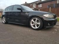 Bmw 120d with ( full leather )