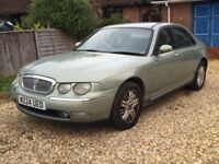 Cheap car Automatic Rover 75 MOT service history Driveaway Today