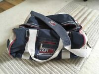 Crew clothing duffel bag used