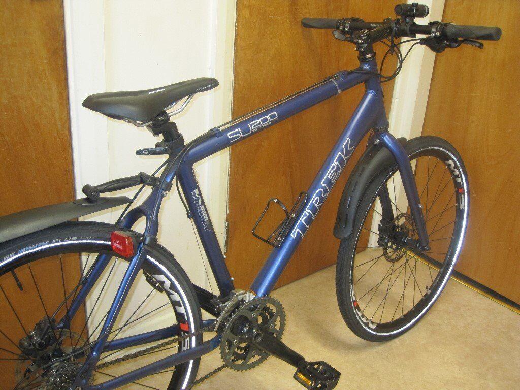Unisex Trek Su200 Sport Lightweight Bike 27 Gears In Very