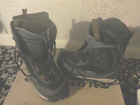 Saloman Defcon snowboard boots