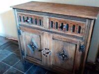 Oak cupboard / sideboard
