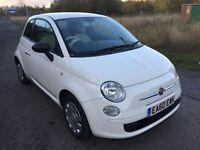 FIAT 500 1.2 POP *WHITE, FSH, HPI CLR, WARRANTY, GOOD RUNNER, BARGAIN, GENUINE, 47K LOW MILE, 60 REG