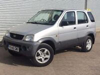 2001 DAIHATSU TERIOS, 1.3, MAY 2017 MOT, GREAT LITTLE CAR WITH 3 MONTH WARRANTY
