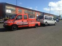 Recovery services car and vans from £30