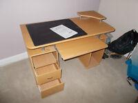 Computer desk Top 54 X118 cm