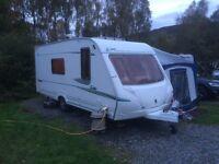 Abbey Safari 525 4 Berth Caravan 2005 + Motor Mover and Full Awning