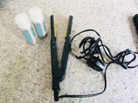 Hair straighteners Incl Toni&Guy heat protection spray