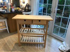 Kitchen table/storage - perfect condition