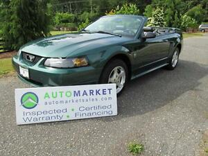 2002 Ford Mustang Premium, Convertible, Insp, Warr
