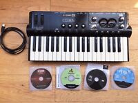 Line 6 toneport KB37, All in One Portable USB Audio Interface & Midi Controller w/ Amp Modelling FX