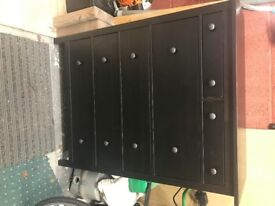 Brand New Black Ikea Chest of Drawers