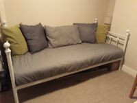 Single 'Day Bed' frame and mattress