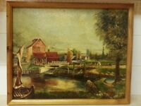 Oil Painting with original frame