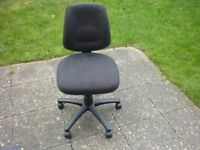 Black Office Chair (Used)