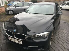 BMW 320i Sport - Black - 26000 Miles - Petrol - Saloon - Manual - Sunroof - FSH