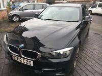 BMW 320i Sport - Black - 26000 Miles - Petrol - Saloon - Manual - Sunroof - FSH