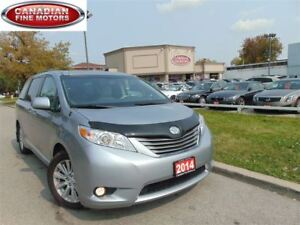 2014 Toyota Sienna XLE LEATHER SUNROOF 3.5L DUAL DVD