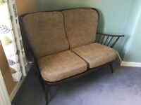 Ercol 2-seater settee (good condition)