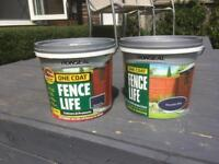 Ronseal fence life mountain blue
